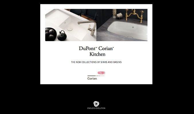 dupont corian kitchen catálogo