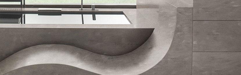 Encimeras para lavabos Corian